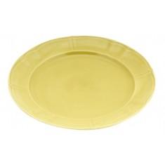 πιάτο ρηχό 22cm κίτρινο