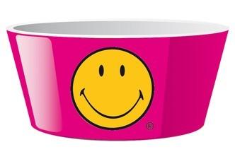 μπόλ δημητριακών zak designs μελαμίνης smiley 15cm φούξια home   ειδη σερβιρισματος   πιάτα