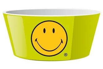μπόλ δημητριακών zak designs μελαμίνης smiley 15cm πράσινο home   ειδη σερβιρισματος   πιάτα