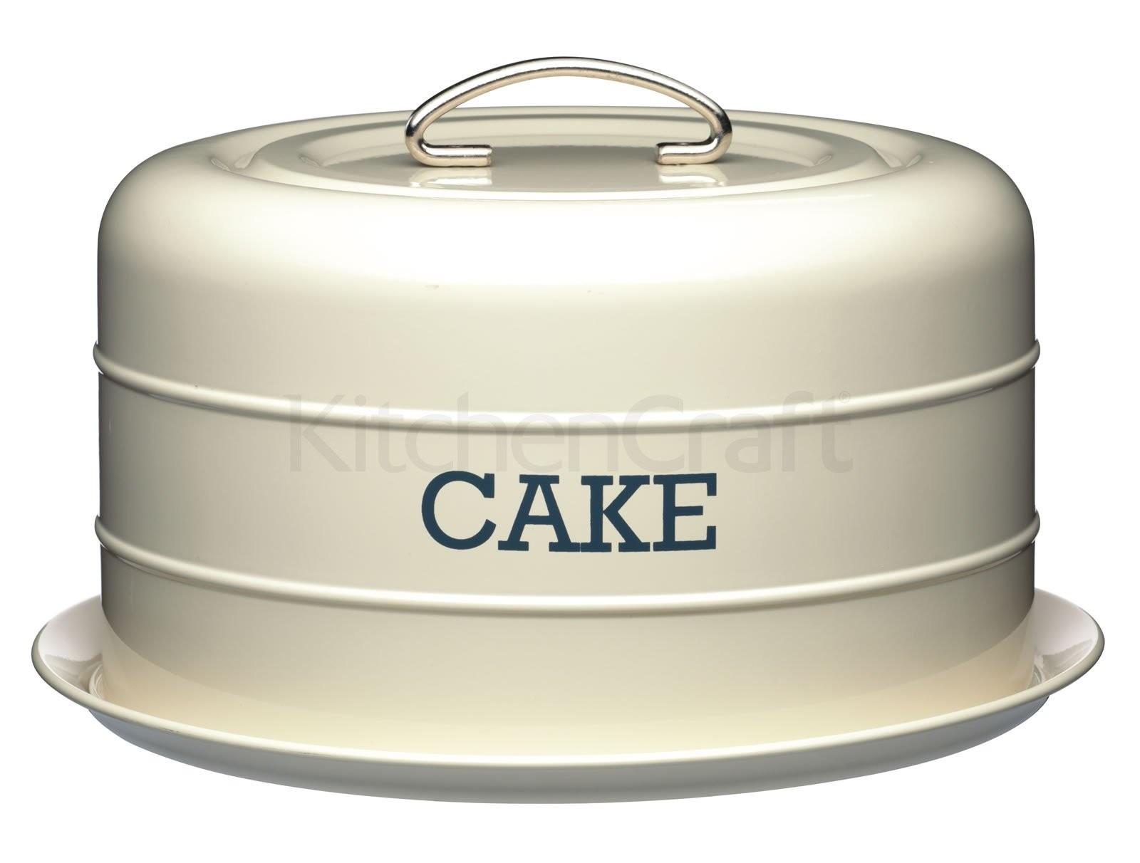τουρτιέρα μεταλλική living nostalgia kitchencraft 28.5cm home   ζαχαροπλαστικη   τουρτιέρα   θήκες cake