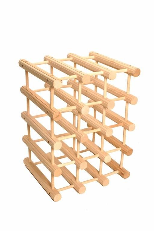 κάβα ξύλινη για 16 μπουκάλια home   αξεσουαρ κουζινας   αξεσουάρ bar