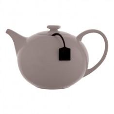 τσαγιέρα s&p Πορσελάνη 1,5lit με φίλτρο γκρι my tea