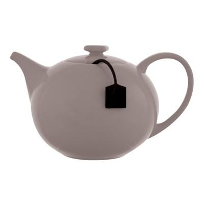 τσαγιέρα s&p Πορσελάνη 1,5lit με φίλτρο γκρι my tea home   ειδη cafe τσαϊ   τσαγιέρες