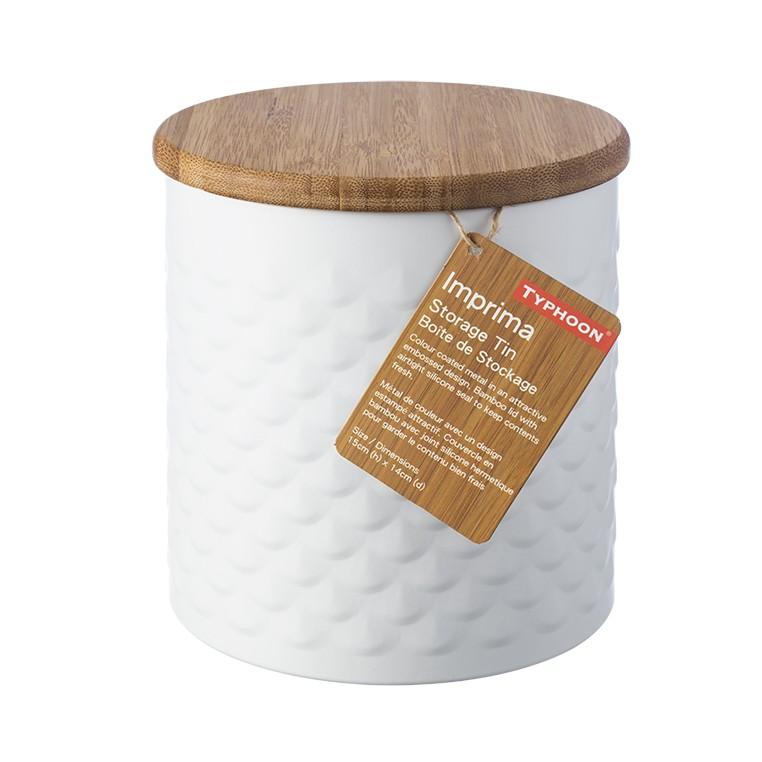 μπισκοτιέρα typhoon μεταλλική imprima scallop home   αξεσουαρ κουζινας   δοχεία τροφίμων   βάζα αποθήκευσης