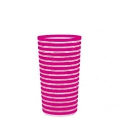 ποτήρι zak μελαμίνης φούξια 360ml swirl tumbler