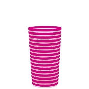 ποτήρι νερού - αναψυκτικού swirl tumbler μελαμίνης φούξια 360ml zak designs home   ειδη σερβιρισματος   ποτήρια