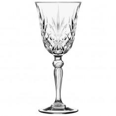 Ποτήρι κρασιού Κρυστάλλινο Rcr 210ml Σετ 6 Τμχ Melodia