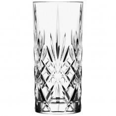 Ποτήρι Σωλήνας Κρυστάλλινο Rcr 350ml Σετ 6 Τμχ Melodia