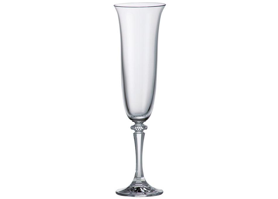 Ποτήρι Σαμπάνιας Κρυστάλλινο Bohemia 175ml Σετ 6 Τμχ Kleopatra home   ειδη σερβιρισματος   ποτήρια