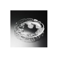 πιατέλα κρυστάλλινη soga cyclamen 36.5cm