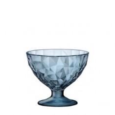 Ποτήρι Παγωτού Bormioli Rocco Diamond 22cl μπλε