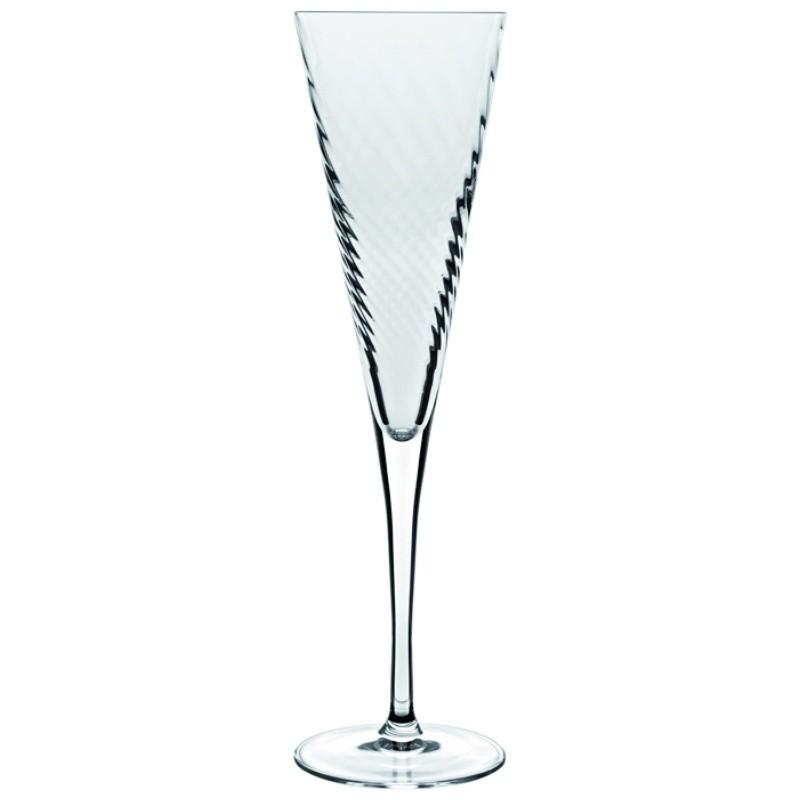 Ποτήρι Σαμπάνιας Κρυστάλλινο Luigi Bormioli 160ml Σετ 6 Τμχ Hypnos home   ειδη σερβιρισματος   ποτήρια