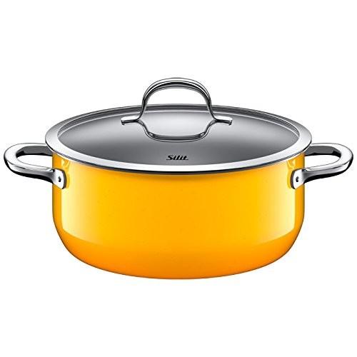 Ημίχυτρα Silit 24cm passion yellow home   σκευη μαγειρικης   κατσαρόλες χύτρες   κατσαρόλες