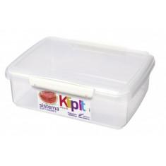 Δοχείο Τροφίμων λευκό BPA Free 2L SISTEMA.