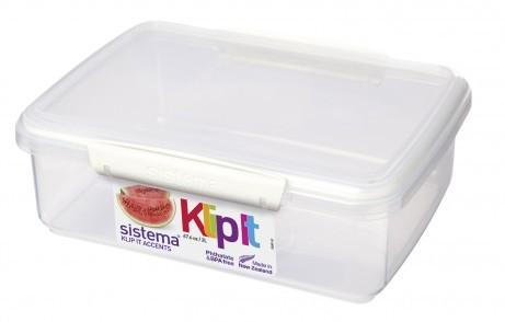 Δοχείο Τροφίμων λευκό BPA Free 2L SISTEMA. home   αξεσουαρ κουζινας   δοχεία τροφίμων   βάζα αποθήκευσης