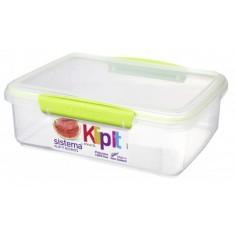 Δοχείο Τροφίμων λαχανί 2L BPA Free, SISTEMA.