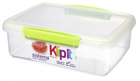Δοχείο Τροφίμων λαχανί 2L BPA Free, SISTEMA. home   αξεσουαρ κουζινας   δοχεία τροφίμων   βάζα αποθήκευσης