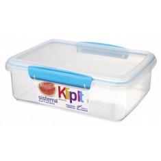 Δοχείο Τροφίμων τυρκουάζ 2L BPA Free, SISTEMA