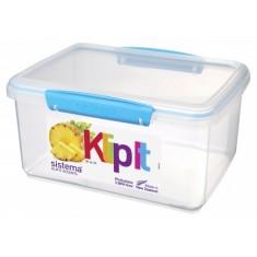 Δοχείο Τροφίμων Τυρκουάζ 3L BPA Free, SISTEMA