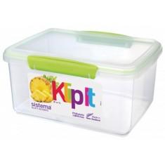 Δοχείο Τροφίμων λαχανί 3L BPA Free, SISTEMA
