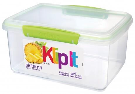 Δοχείο Τροφίμων λαχανί 3L BPA Free, SISTEMA home   αξεσουαρ κουζινας   δοχεία τροφίμων   βάζα αποθήκευσης