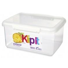 Δοχείο Τροφίμων λευκό 3L BPA Free, SISTEMA