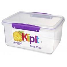Δοχείο Τροφίμων μωβ 3L BPA Free, SISTEMA