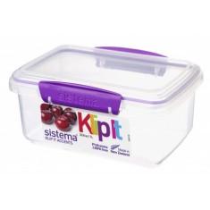 Δοχείο Τροφίμων μωβ 1L BPA Free, SISTEMA