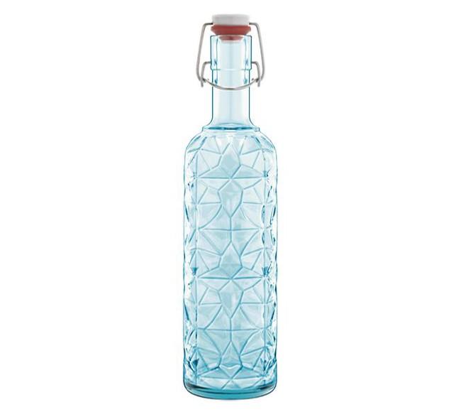 Μπουκάλι Luigi Bormioli Prezioso 1lt μπλε home   ειδη σερβιρισματος   κανάτες   καράφες