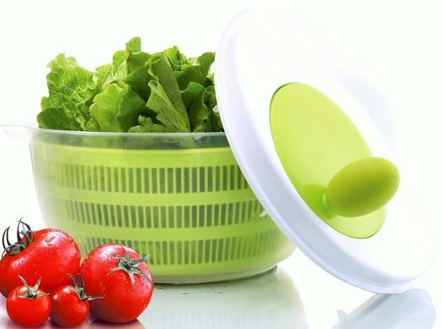 Στεγνωτήρι για τη σαλάτα home   εργαλεια κουζινας   έξυπνα εργαλεία