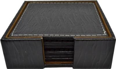 Σουβέρ Δερμάτινα κύμα σετ 6 τεμάχια τετράγωνα wenge home   αξεσουαρ κουζινας   σουβέρ