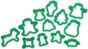κουπ-πατ χριστουγενvιάτικα σετ 12 τεμάχια kitchencraft home   ζαχαροπλαστικη   κουπ   πατ