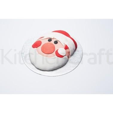 Φόρμα κέικ αντικολητική μεταλλική Άγιος Βασίλης Kitchencraft home   ζαχαροπλαστικη   χριστουγεννιάτικα