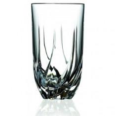 Ποτήρι Σωλήνας Κρυστάλλινο Rcr 470ml Σετ 6 Τμχ Trix
