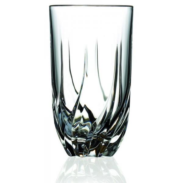 Ποτήρι Νερού - Αναψυκτικού Κρυστάλλινο Rcr 470ml Σετ 6 Τμχ Trix home   ειδη σερβιρισματος   ποτήρια