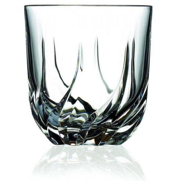Ποτήρι Ουίσκι Κρυστάλλινο Rcr 400ml Σετ 6 Τμχ Trix home   ειδη σερβιρισματος   ποτήρια