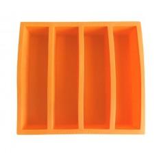 Καλούπι Πάγου Collins πορτοκαλί Aps Bar Supply