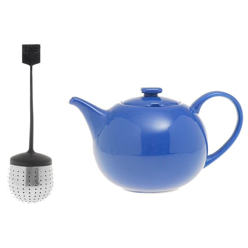 Τσαγιέρα S&P Πορσελάνη 1,5lt Με Φίλτρο Μπλε My Tea home   ειδη cafe τσαϊ   τσαγιέρες