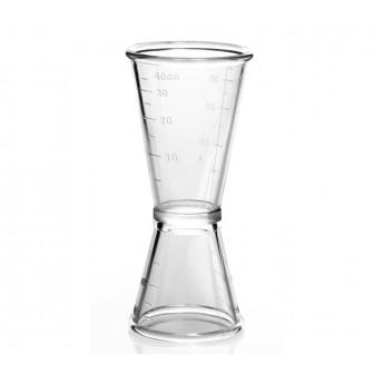 Μεζούρα Ποτών Ακριλική 2-4cl