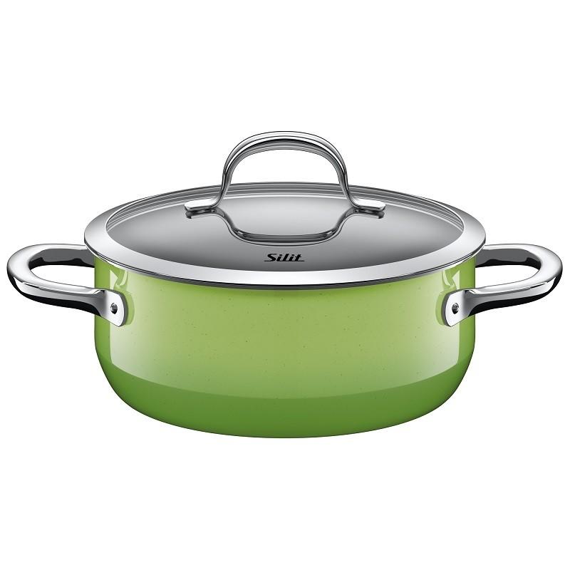 Ημίχυτρα Silit 24cm Passion Green home   σκευη μαγειρικης   κατσαρόλες χύτρες