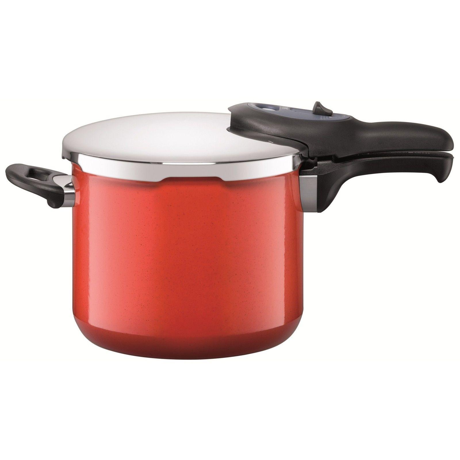 Χύτρα Ταχύτητος Silit 6,5lt Sicomatic Energy Red home   σκευη μαγειρικης   κατσαρόλες χύτρες   χύτρες ταχύτητας