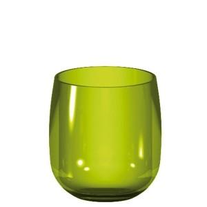 ποτήρι Ουίσκι zak designs μελαμίνης stacky πράσινο home   ειδη σερβιρισματος   ποτήρια