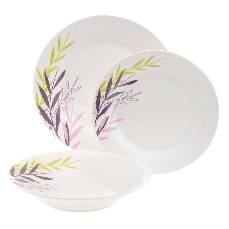Σερβίτσιο Φαγητού Theory Siena 18 Τεμαχίων Στρογγυλό Home Design home   ειδη σερβιρισματος   πιάτα