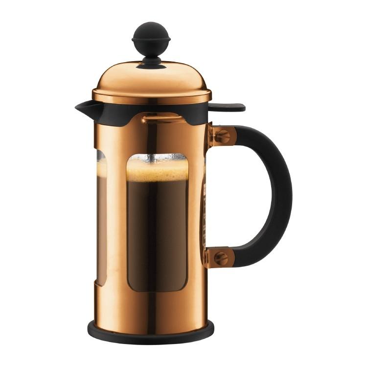 Καφετιέρα Γαλλικού Καφέ Bodum Chambord Copper 0.35lit home   ειδη cafe τσαϊ   καφετιέρες
