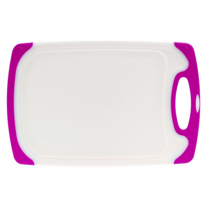 Επιφάνεια Κοπής Πλαστική 30cm X 18cm Μωβ home   αξεσουαρ κουζινας   επιφάνειες κοπής