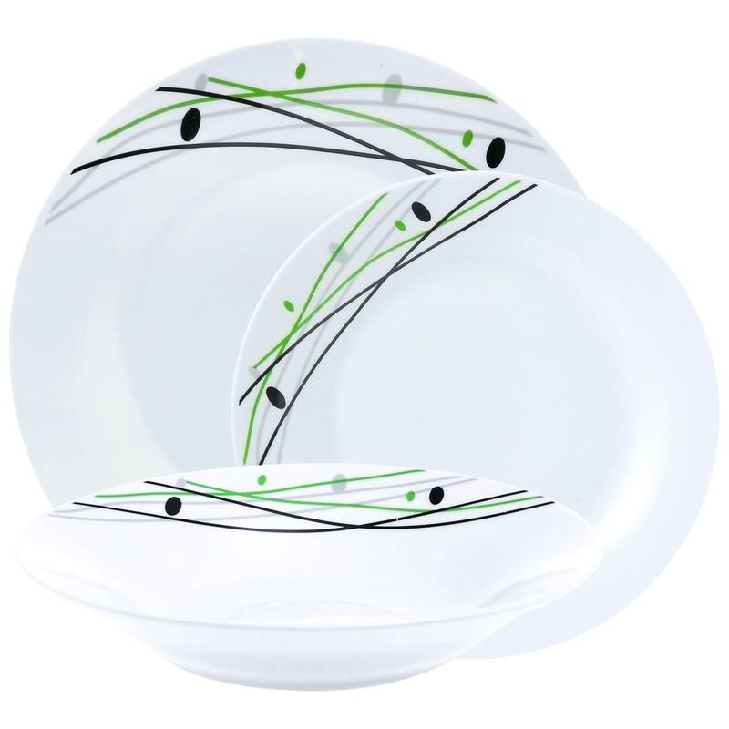 Σερβίτσιο Φαγητού Theory Sublime 18 Τεμαχίων Στρογγυλό Home Design home   ειδη σερβιρισματος   πιάτα