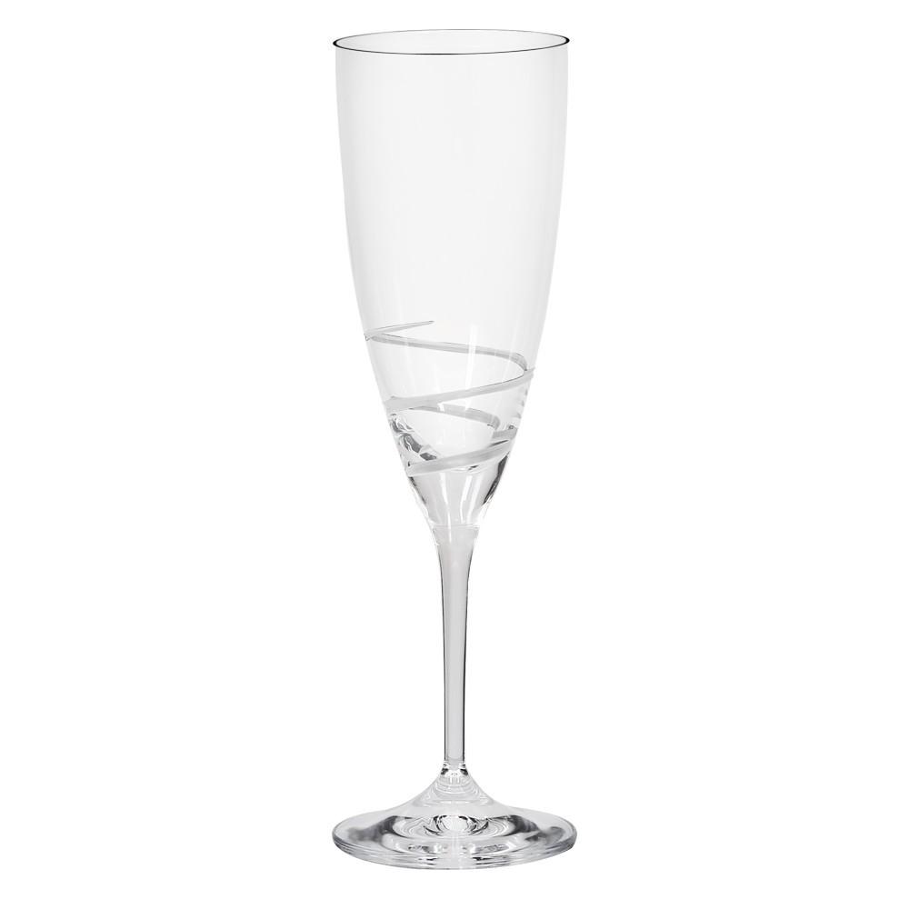 Ποτήρι Σαμπάνιας Σετ 6Τμχ Κρυστάλλινο Bohemia Kate 220ml home   ειδη σερβιρισματος   ποτήρια