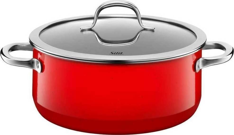 Ημίχυτρα Silit 24cm Passion Red home   σκευη μαγειρικης   κατσαρόλες χύτρες   κατσαρόλες