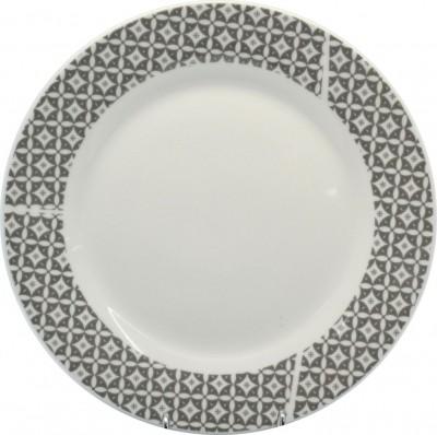 Σερβίτσιο Φαγητού Γκρι Καρώ 18 Τεμαχίων Στρογγυλό home   ειδη σερβιρισματος   πιάτα