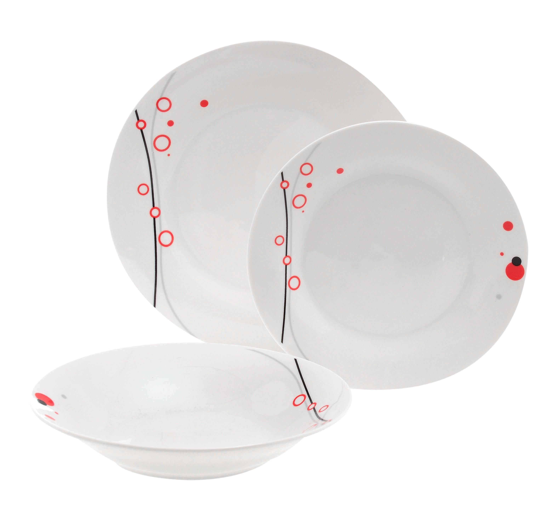 Σερβίτσιο Φαγητού Theory Hudson 18 Τεμαχίων Στρογγυλό Home Design home   ειδη σερβιρισματος   πιάτα